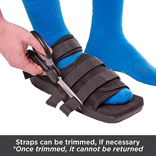 BraceAbility Post-op Shoe for Broken Foot or Toes | - Import