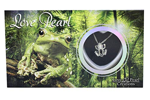 - Love Pearl Creations Animals Wish Kit with Pendant Necklace (Frog)