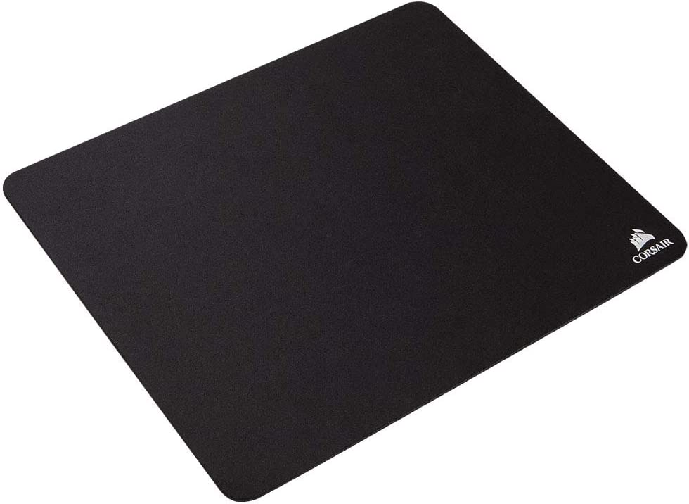 Corsair MM100 Medium Cloth Surface Mousepad (Glide-Optimised Textile Surface, Anti-Slip Base, Designed for Optical and Laser Mice, 320 mm x 270 mm x 3 mm) - Black