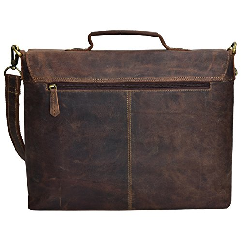HOLIDAY DEALS SALE TONY'S BAGS - 15 inch Laptop bag - College Bag, Office Bag, Business Bag Briefcase in Vintage Style by Tony bags (Image #1)