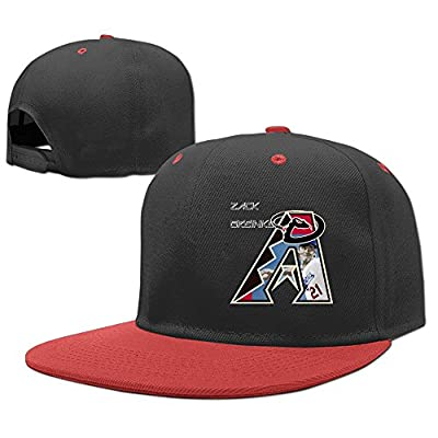 NCKG Zack Greinke Arizona Diamondbacks Fans Adolescent Baseball-caps Meshback, Red
