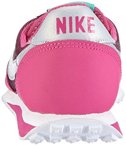 Nike Elite (Gs) - Zapatillas Niñas Black/Metallic Platinum-Hot Rosa-Mint