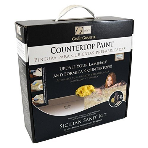 GianiTM Countertop Paint Kit, Sicilian Sand by Giani Granite