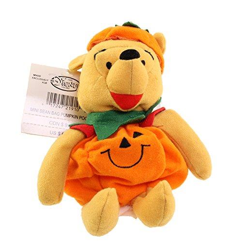 (Mini Bean Bag PUMPKIN Disney Winnie Pooh)