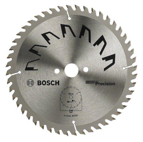 Bosch - Disco De Precisin Bosch Para Sierra Circular 190 Mm X 20/16 Mm 48 Dientes 2609256867