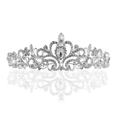 TinkSky Wedding Rhinestones Headband Princess