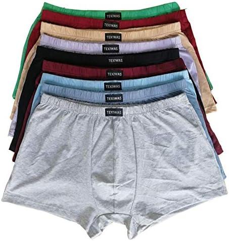 GDNSNK Marca 100% algodón Calzoncillos de Gran tamaño para Hombre ...