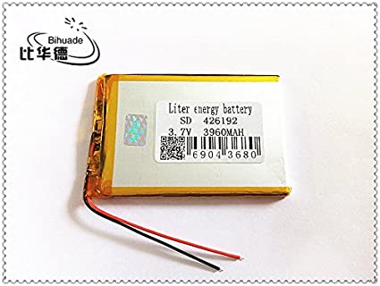 BIHUADE 3.7V 402030 200MAH Lithium Polymer Li-Po Rechargeable Battery for DIY Mp3 MP4 MP5 GPS 402030