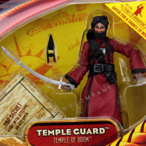 Indiana Jones Pet Costume (Indiana Jones TEMPLE GUARD TEMPLE OF DOOM 3.75in. Action Figure AK75)