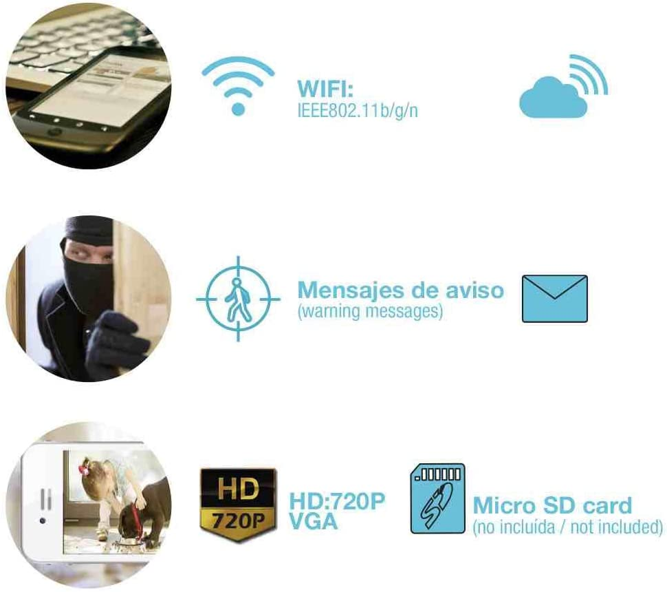 7hSevenOn Home Enchufe Inteligente WiFi Controlador de Aire Acondicionado v/ía Smartphone//App