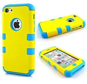 iPhone 5 case,Kaseberry Hybrid Hard Soft Silicone Back Case iPhone 5 Fit For iPhone 5 5S