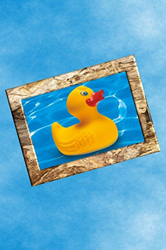 Journal: Rubber Duckie Design Cover - College-Rule Lined Journal/Notebook/Diary/Composition Book - 6