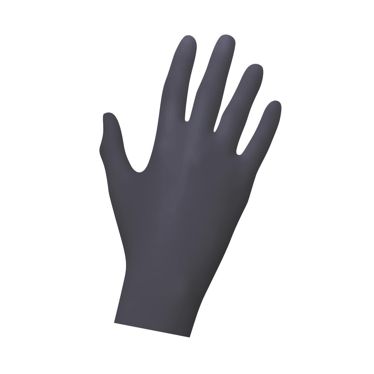 Guantes de nitrilo caja de 100 unidades, desechables Guantes Guantes, guantes, guantes nitrilo sin, sin lá tex, unsteril, sin lá tex sin látex D-Touch