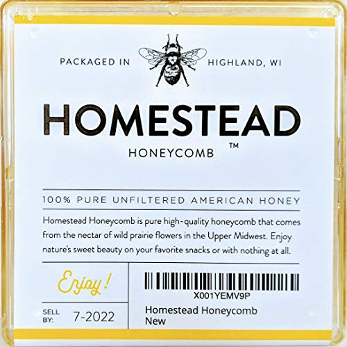 Raw Honeycomb, Real American Comb Honey Locally Sourced in Wisconsin