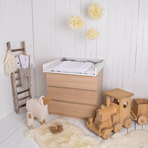 wickelaufsatz wickeltischaufsatz f r ikea malm brusali. Black Bedroom Furniture Sets. Home Design Ideas