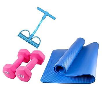 HiJsport Pedal Cordón elástico con Estera de Yoga ...