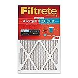 Filtrete Micro Allergen PLUS DUST AC Furnace Air Filter, MPR 1000D, 16 x 25 x 1, 6-Pack