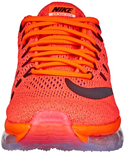 Orange Naranja Glow Scarpe Hyper Wmns Ginnastica Donna 2016 Max Air NIKE Black da sunset qRw8vHF
