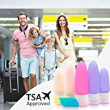 Grundsoo TSA Approved Travel Bottles set | Portable