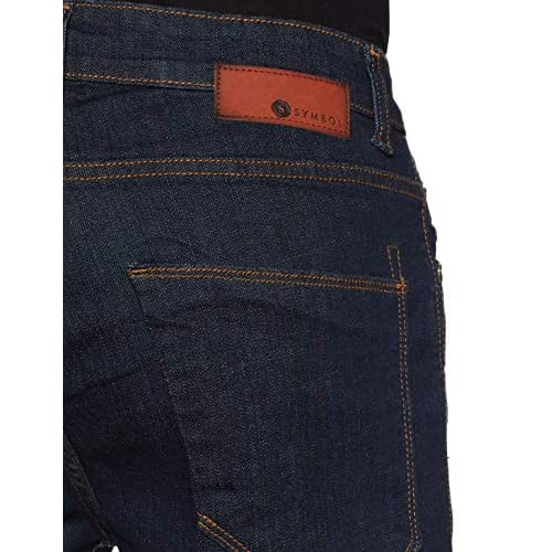 51BK%2BimDUhL. SS500  - Amazon Brand - Symbol Men's Slim Fit Jeans