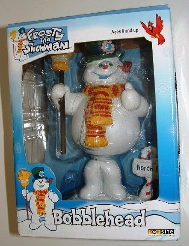 Frosty Snowman Figure - Frosty the Snowman Bobblehead 2002