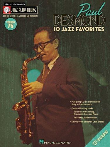 Sheet Vocal Music Jazz (Paul Desmond Jazz Play-Along Vol. 75 BK/CD (Jazz Play-Along))