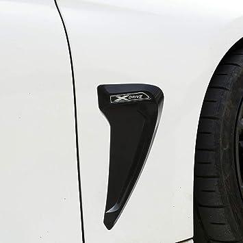 Auto Pro Xdrive Bmw F30 F31 F32 F33 F48 Glossy Black White Abs Plastic Shark Gills Side Fender Decoration 3d Sticker Car Accessories Amazon De Auto