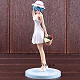 Re:Life in a Different World from Zero Rem Action Figure White Dress Ver. PVC Re: Zero Anime Figure Rem Collectible Model Toy