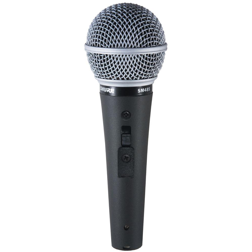shure sm48s lc microphone with on off switch electronics. Black Bedroom Furniture Sets. Home Design Ideas