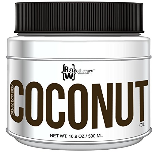 Organic Extra Virgin Coconut Oil by Raw Apothecary- All-Natural
