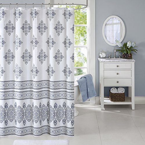 - Harbor House Sanibel Cotton Printed Shower Curtain Multi 72x72