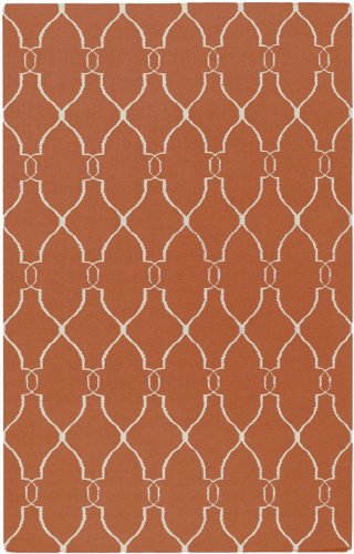 Surya Fallon Coral-Ivory 5'x8' Transitional Area Rug ()