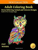 Adult Coloring Book: Stress Relieving Animal and