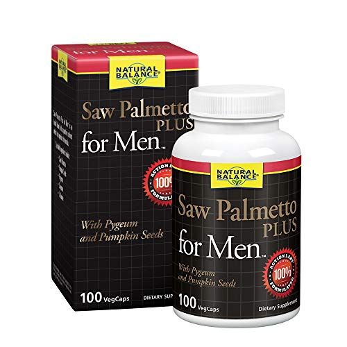 Natural Balance Palmetto Supplements Count product image