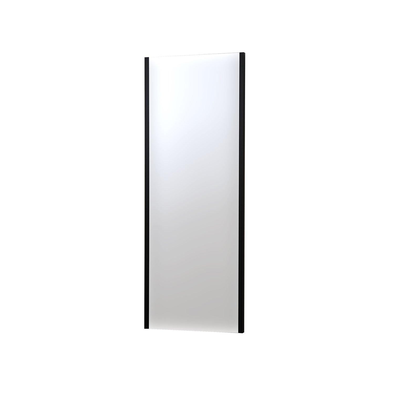 割れない鏡 refex-45120 (R) 約45×120cm ブラック NRM-2/B 防災 飛散防止 吊式姿見 ミラー インテリアショップゆうあい B01C5H4Z5Q 吊式姿見(NRM-2) 約45×120cm|ブラック(B) ブラック(B) 吊式姿見(NRM-2) 約45×120cm