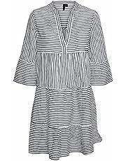 VERO MODA kvinnor Vmheli 3/4 Short Dress Wvn Ga Color Klänning