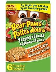 Bear Paws Veggies & Fruit - Carrot Cake Cookies, 168 Grams