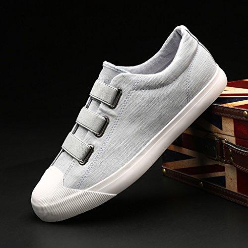 Size corsa selvaggia traspiranti Blue YaNanHome basse in tendenza Scarpe Blue da scarpe Scarpe tela basso 40 Color casual da uomo da uomo scarpe un pedale scarpe Espadrillas xSTqF6xw7