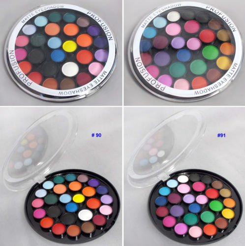 Good Trio Halloween Costumes (Cosmetics 27 Color Matte Eyeshadow Palette Makeup Eye Shadow ( # ECOSF334)#91)