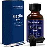 Breathe Ease Essential Oil Synergy Blend - Pure and Natural Undiluted Therapeutic Grade Blends from Eucalyptus, Rosemary, Peppermint and Niaouli Oils - Best Aromatherapy Breathing Nexon Botanics 30ml