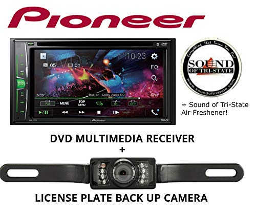 Sound of Tri-State Pioneer AVH211EX Multimedia Receiver with License Plate Backup Camera