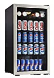 Danby 3.3 CuFt. Beverage Center,Holds 128 Cans,Free Standing Application (DBC120BLS)