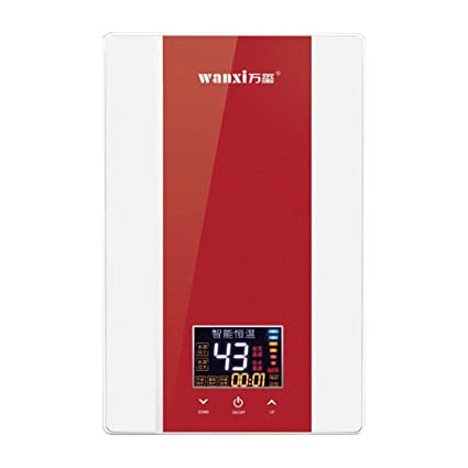 Water heater 220V 7KW Calentador de Agua eléctrico Calentador de Agua instantáneo Calentador de Agua sin