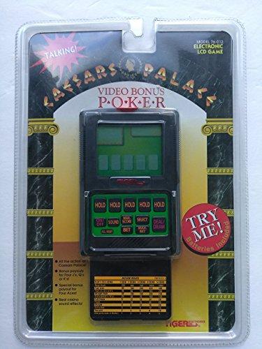 Caesars Palace Video Bonus Poker Electronic LCD - Caesar Stores Palace