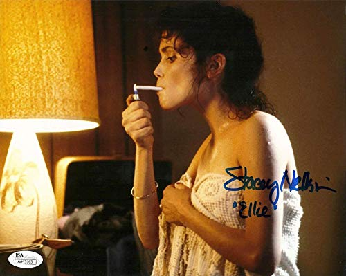 Stacey Nelkin signed 8x10 Photo Halloween 3 Season of the Witch Ellie JSA -