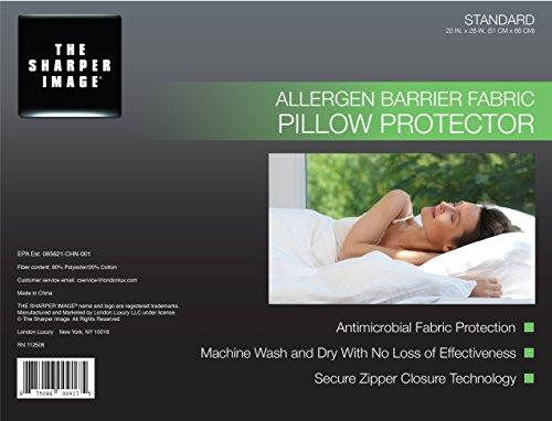the-sharper-image-allergen-barrier-pillow-protector-standard-size-hypoallergenic-premium-zippered-cl