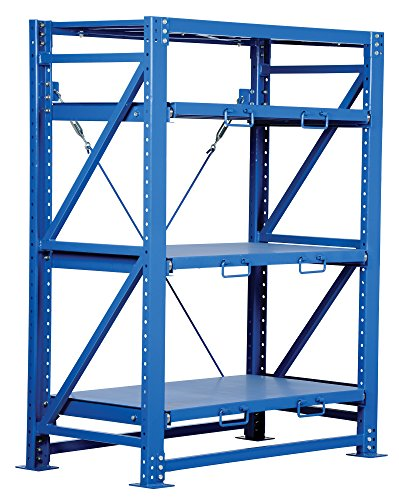 Vestil VRSOR-54 Heavy Duty Roll-Out Shelving, 32