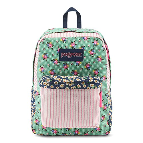 JanSport High Stakes Backpack - Dizzy Patchwork