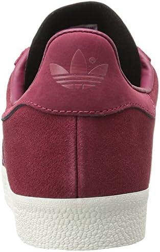 adidas Originals Gazelle Sneaker,COLLEGIATE BURGUNDY/MYSTERY RUBY/METALLIC GOLD,11.5 Medium US