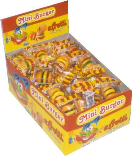 Gummi Mini Burgers 60ct]()